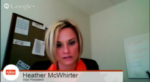 Heather McWhirter, VP, participates in the 2014 Salary Guide & Trends Google+ Roundtable: Roundtable Recap