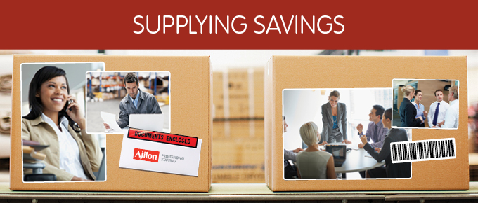 Supplying Savings: Changes in the Supply Chain
