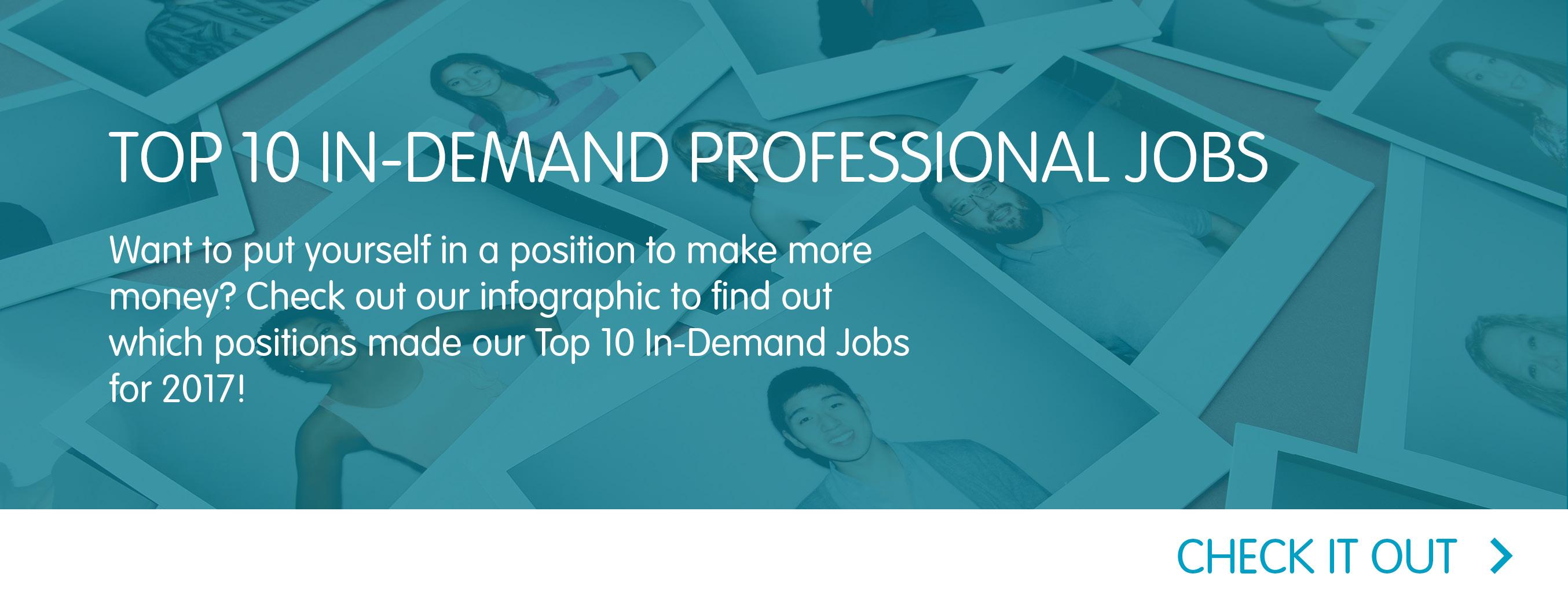 Top 10 In-Demand Professional Jobs
